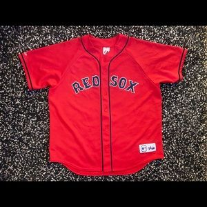 Majestic Boston Red Sox Jersey Men's Size XL NICE